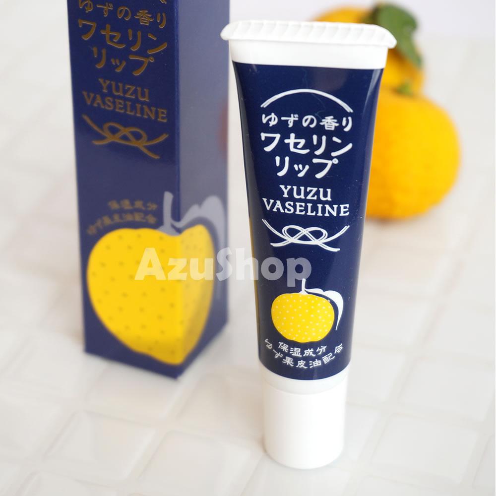 リップクリーム 柚子の香り ワセリン 10g チャーリー 雪の元 Vaseline メール便
