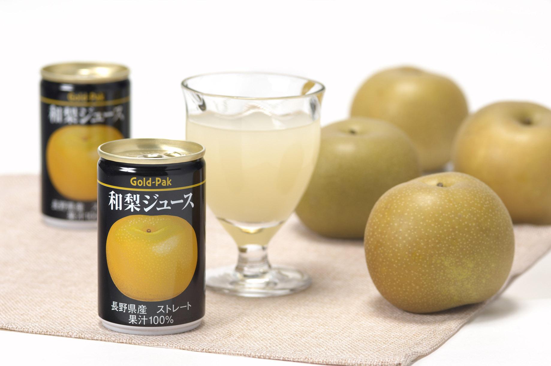 和梨ジュース(ストレート)160g×20缶入