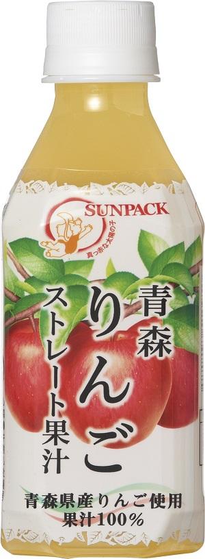 青森りんごストレート果汁 PET280ml×24本入