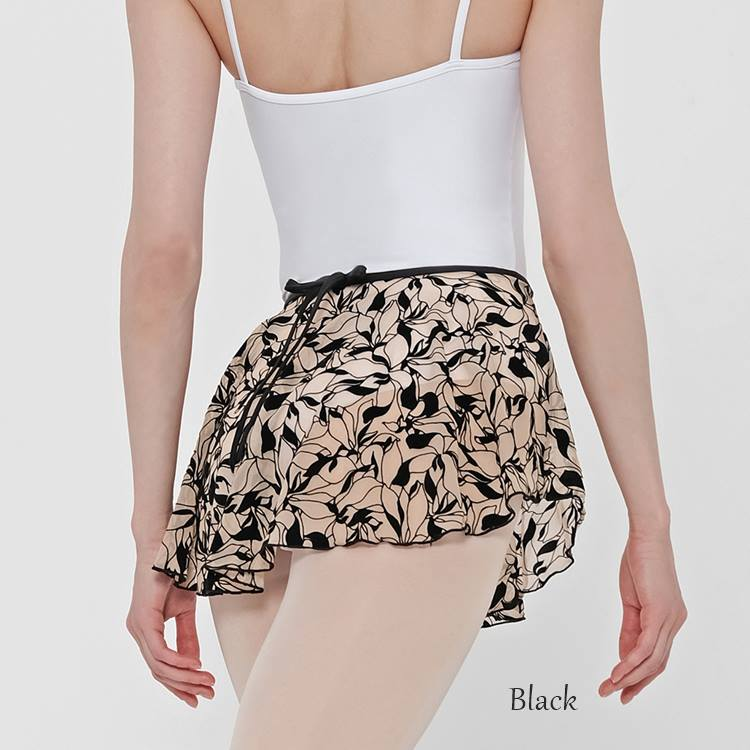 【Wear Moi ウェアモア】TINAティナ【大人バレエスカート】 プルオンスカート ショート丈