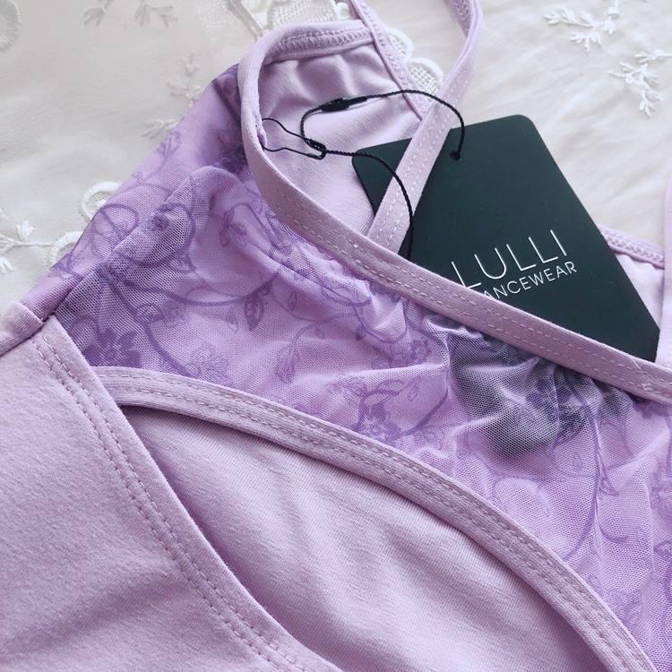 【Lulli Dancewear リュリ ダンスウェア】LUF542C CATALINA カタリーナ 子供バレエレオタード キャミソール