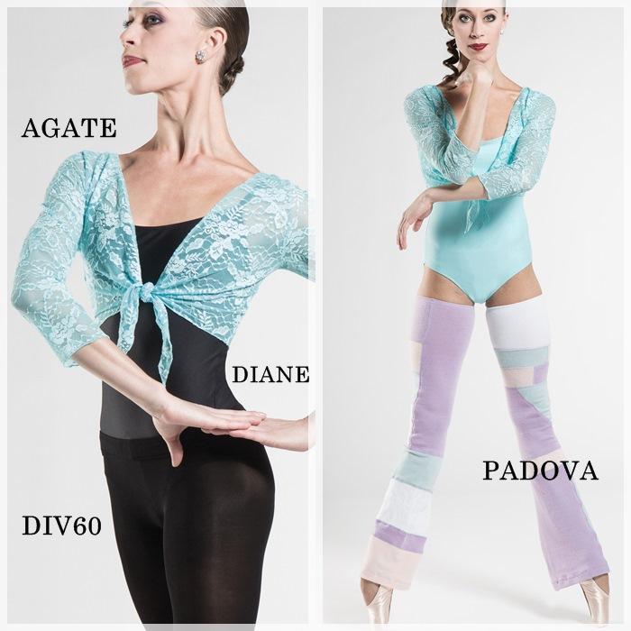 【Wear Moi ウェアモア】AGATE アガテ レーストップス 子供用 バレエ