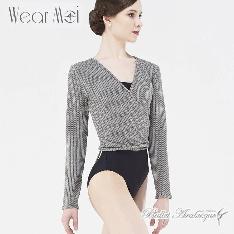 【Wear Moi ウェアモア】HEVEA エヴェア バレエニットカシュクールトップ 大人用 バレエ