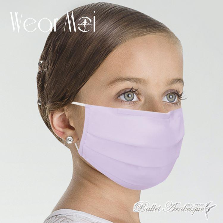 【Wear Moi ウェアモア】MASK018  子供用マスク  6色  (子供 バレエマスク)