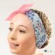 【 DANSE DE PARIS  ダンスドパリ】リボン付きヘアバンド (Headband with Bow Blurbelle A0002) バレエ リボン(レオタード) ヘアバンド 髪飾り