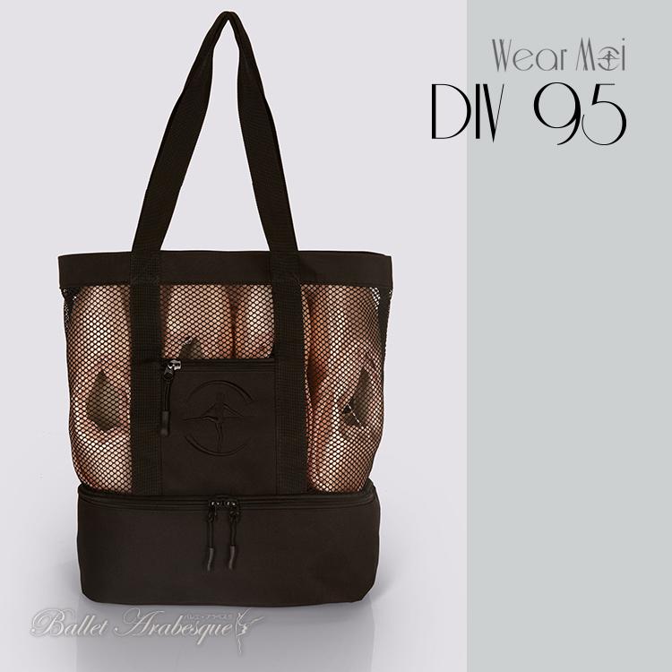 【Wear Moi ウェアモア】 DIV95 ポワントシューキャリーバッグ