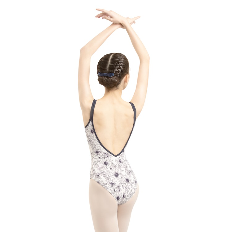 【DANSE DE PARIS  ダンスドパリ】 FLEUR フルール  大人 子供 ジュニア バレエレオタード (L0001L FLEUR)