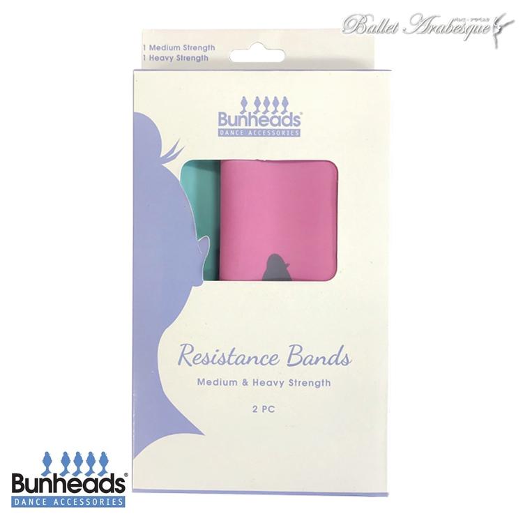 【Bunheads バンヘッド】 Bunheads Exercise Bands Combo Pack バレエ エクササイズバンド 2枚入