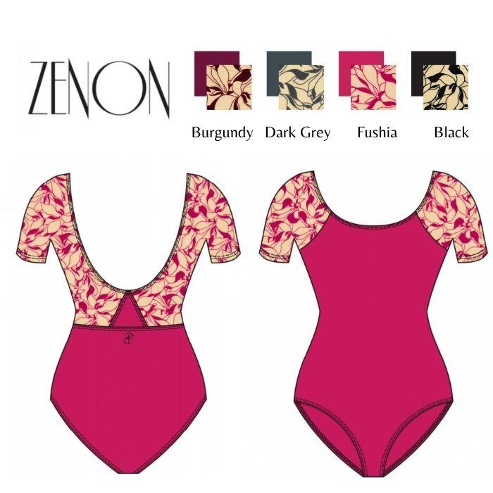 【Wear Moi ウェアモア】ZENON ゼノン 【子供バレエレオタード】 ラグランスリーブレオタード