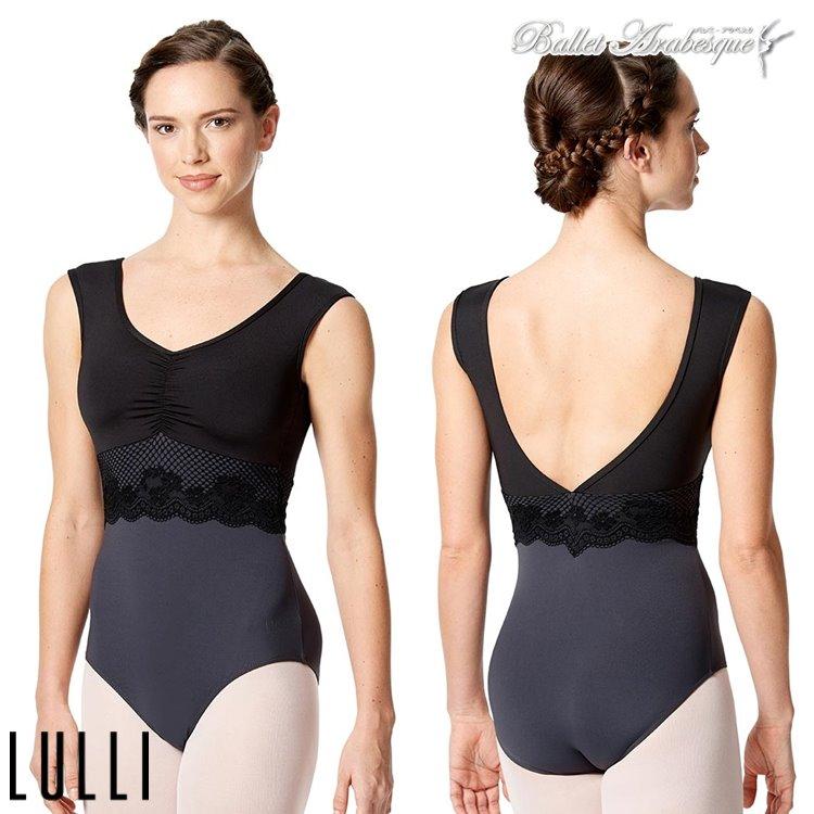 【Lulli Dancewear リュリ ダンスウェア】LUF514 JOLANDA ヨランダ 大人バレエレオタード ワイドストラップ