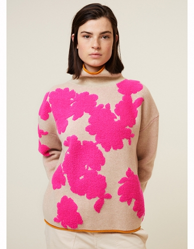 oilily knitted pullover col