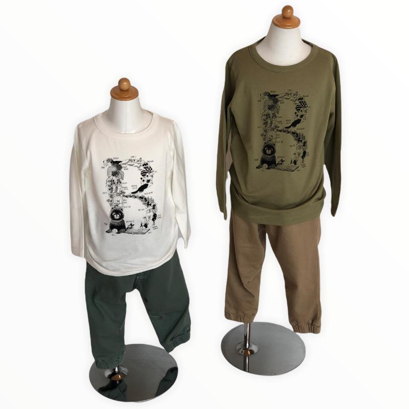 marbleSUD kids Tシャツ B