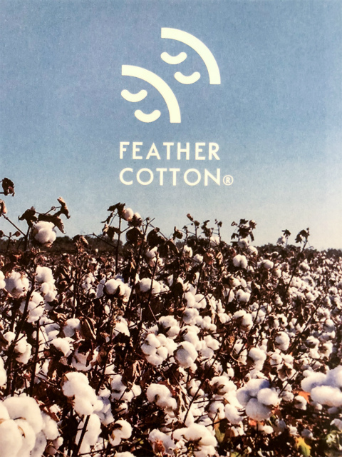AnneauCroix feathercottonキッズレギンス