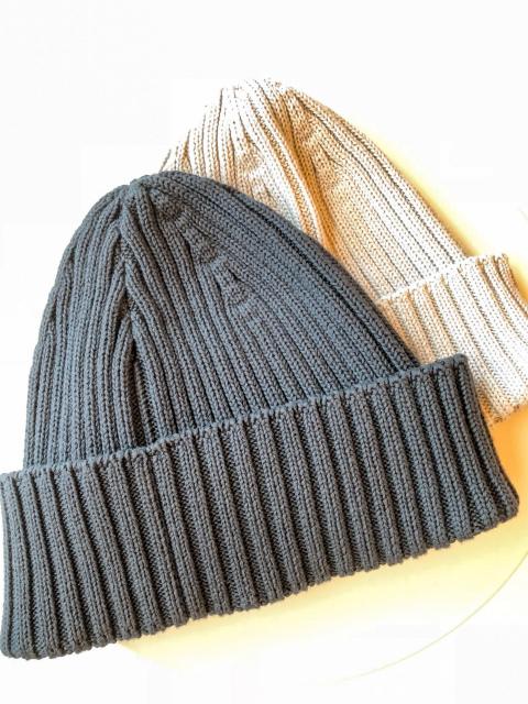 AnneauCroix feathercottonニット帽