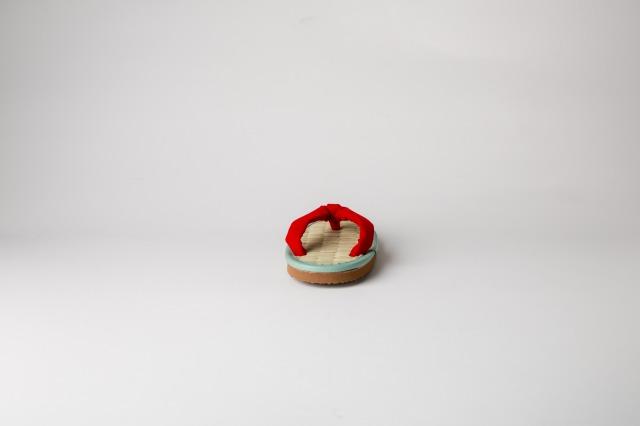 ケンコーミサトっ子サンダル赤01