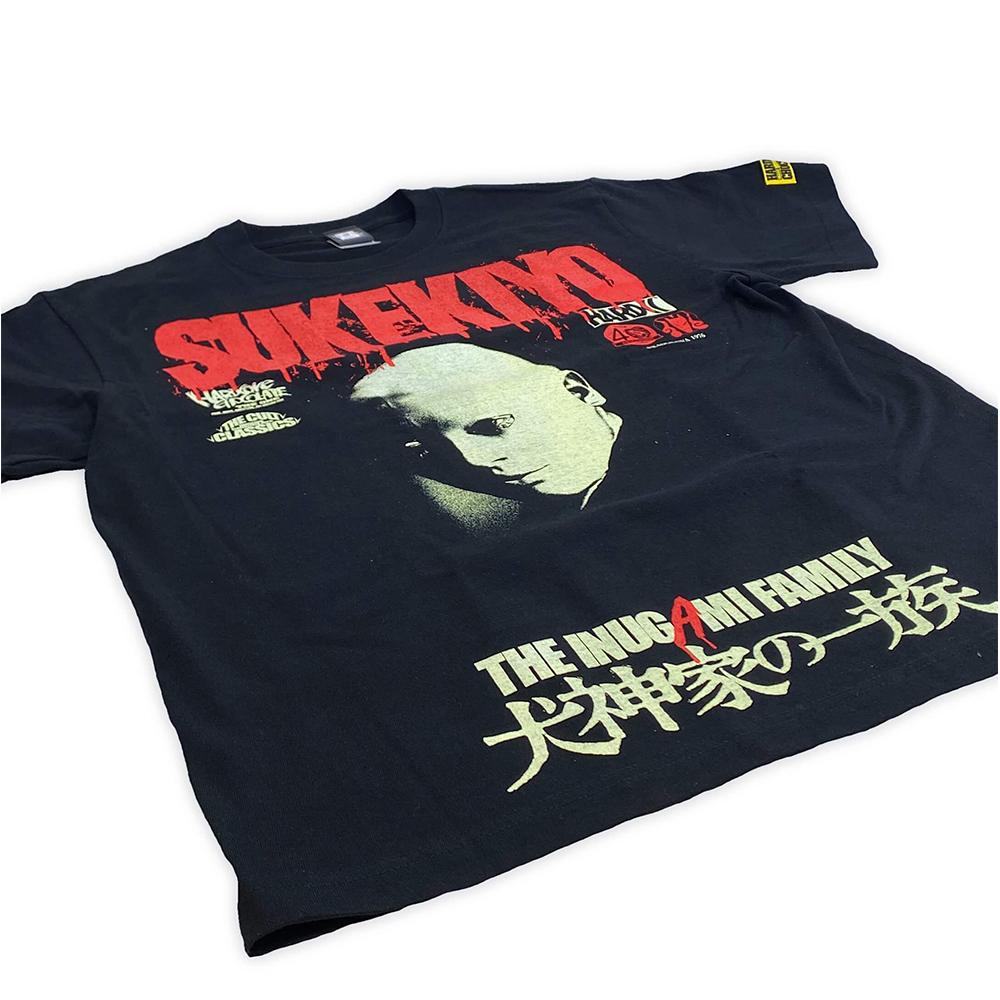 犬神家の一族(THE INUGAMI FAMILY) Tシャツ <br>Hardcore Chocolate/ハードコアチョコレート