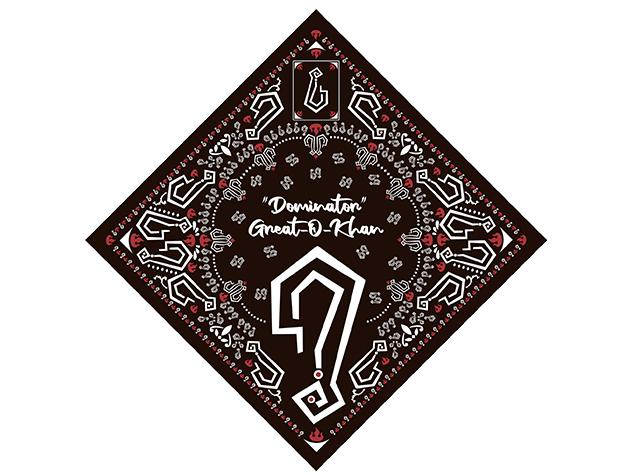 グレート-O-カーン バンダナ (ステッカー1枚付)