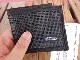 新品 ラギッドマウンテン アメリカ製 TWO FOLD WALLET 黒メッシュ 二つ折り財布 ach961