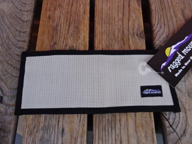 新品 ラギッドマウンテン アメリカ製 TWO FOLD WALLET 白メッシュ 二つ折り財布 ach962