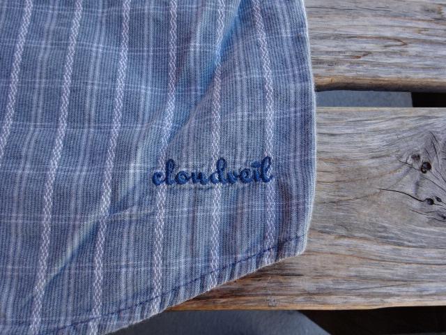 USED 2005年製 クラウドベイル 「Cloidveil」 半袖コットンシャツ S ssc465