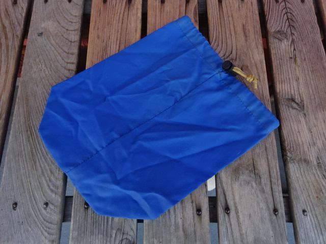USED シエラデザイン 80年代後期頃の USA製 スタッフサック 青 ach828