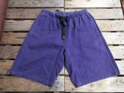 USED 「ROKX」 ロックス カナダ製 ショーツ 紫 サイズS pac243