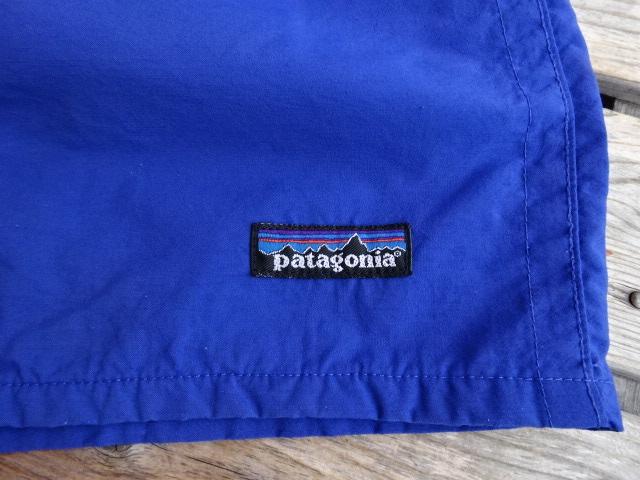 USED パタゴニア 【patagonia】 バギーズショーツ 98年SS USA製のブルーリボン XL pad847