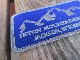新品 ティトン マウンテニアリング ストアロゴ ワッペン ブルーXシルバーグレー ach037