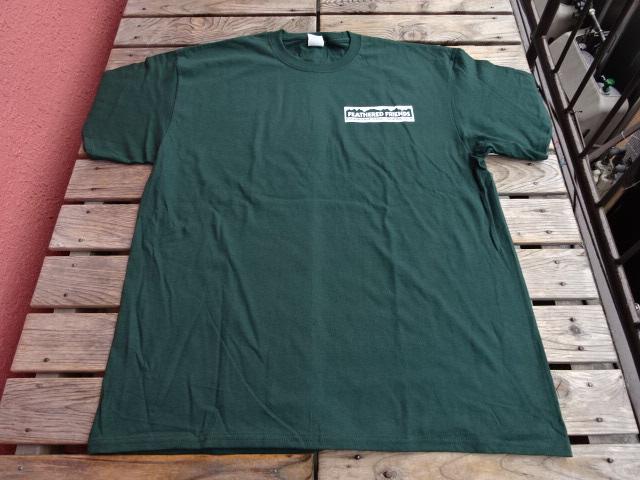 新品 2021SS フェザードフレンズ EIDER 1989 Tシャツ ディープグリーン XL tsg376