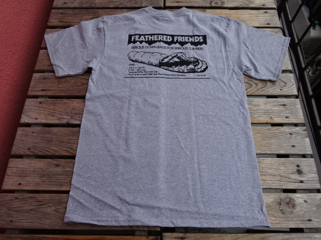 新品 2021SS フェザードフレンズ EIDER 1989 Tシャツ アスレチックヘザー M tsg378