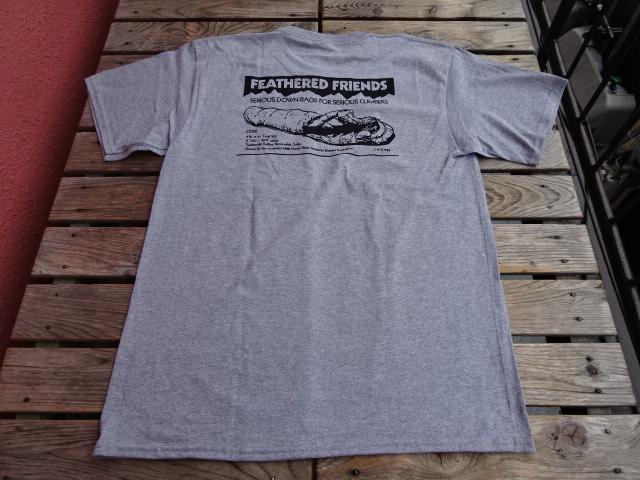 新品 2021SS フェザードフレンズ EIDER 1989 Tシャツ アスレチックヘザー L tsg379