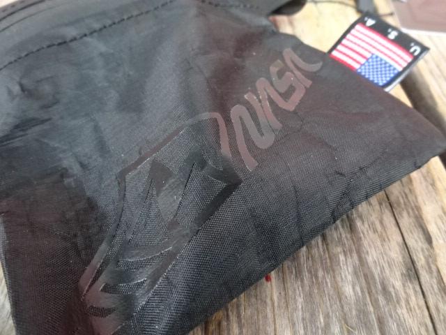 新品 USA製 HIGHABOVE ハイアバーブ 【NASA】 サイコプス DCF ジップバッグ 黒 ダイニーマ S ack020