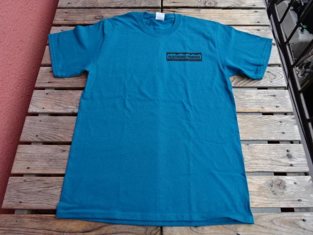 新品 2021SS フェザードフレンズ EIDER 1989 Tシャツ ティール M tsg382