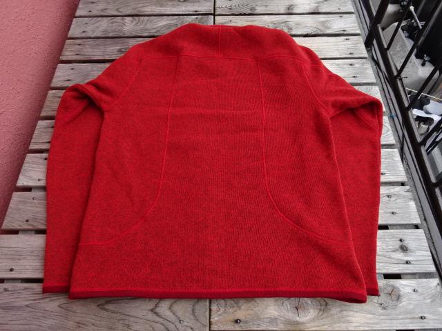 USED パタゴニア フリース 2009年製  ベターセーター 1/4ジップ 赤 M jks930