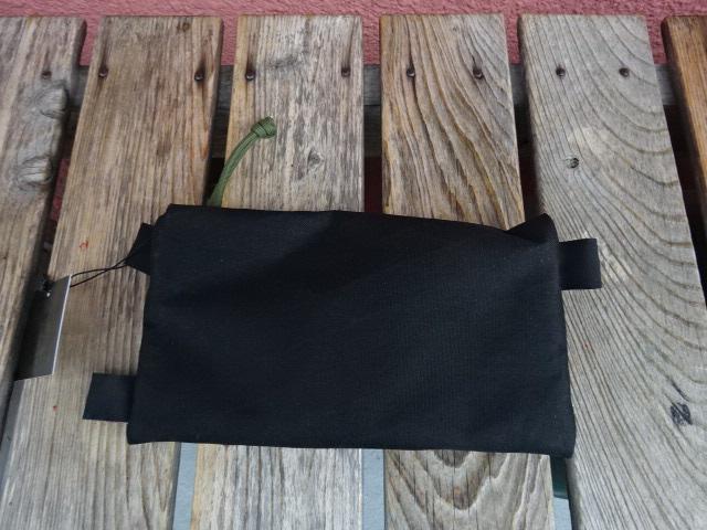 新品 USA製 HIGHABOVE ハイアバーブ オリーブジッパータブ ホットポケット 黒 Xpac M ack025