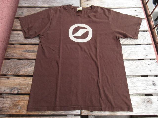 USED スカルパ 「SCARPA」 Tシャツ 茶色 2007年頃 M tsf787