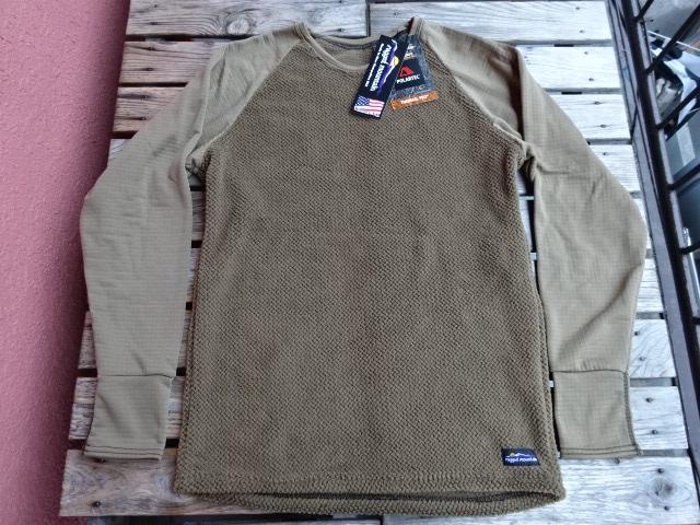 新品 ラギッドマウンテン アメリカ製 Hyperactive Core Shirt スペシャルエディション コヨーテ L jks935