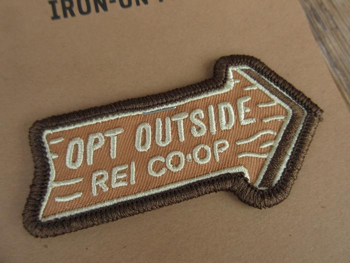 新品 USA製 REI COOP Opt outside ワッペン acf848