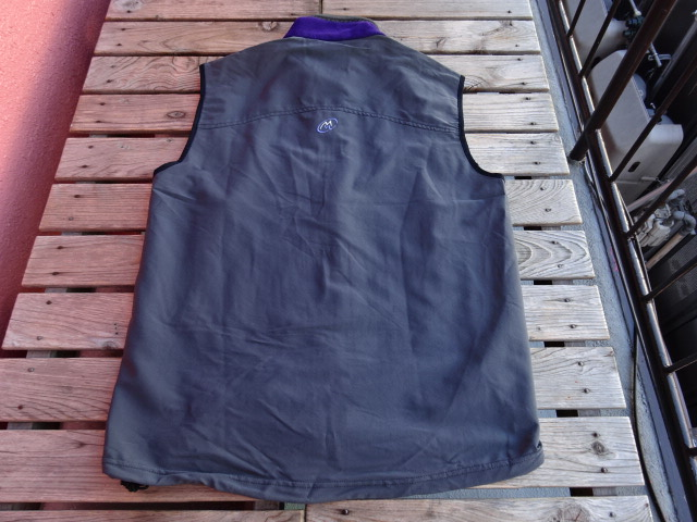 USED 名品 99年頃のUSA製 クラウドベイル シャドーピーク ベスト 紫 L jks618