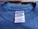 USED レーニアマウンテニアリング 【RMI】 刺繍ロゴ入りTシャツ 青灰 S tsg134