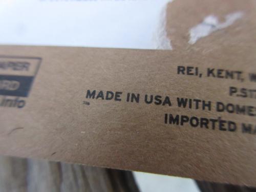 新品 USA製 REI COOP ワッペン 丸深緑 ace331