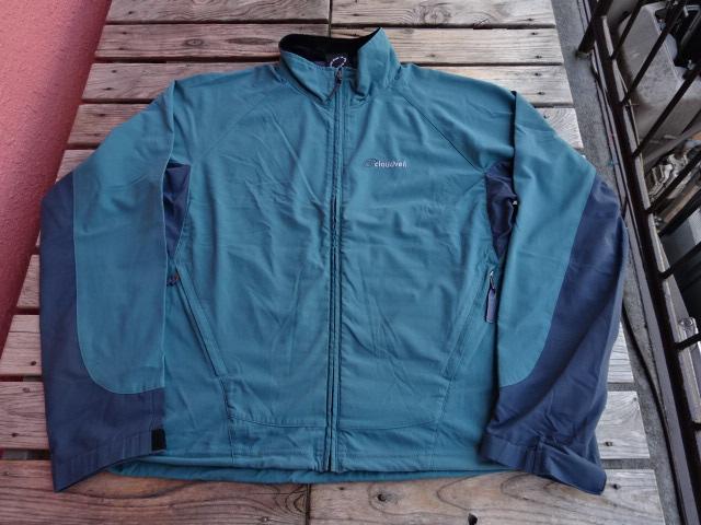 USED クラウドベイル 【Cloudveil】 01年頃のヴェイルドピークジャケット ブルーセージ 薄手のショーラー M jks814