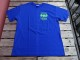 デッドストック オレゴン州 ポートランド クライムマックスマウンテニアリングのTシャツ 青 L tsg020