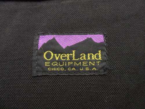 USED オーバーランド 「OVERLAND」 クーリエバッグ 黒 bac952