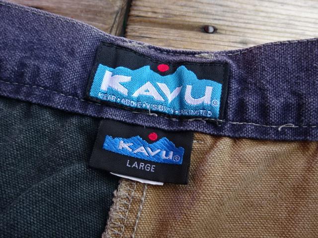 USED 90年代後半 KAVU チリワックショーツ 魅惑のアグリー USA製 L pad711