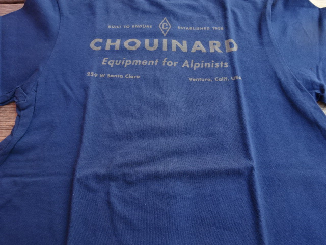 未使用品 パタゴニア ダイアモンドC 【C】 Tシャツ 2012年製 紺 XS tsg285
