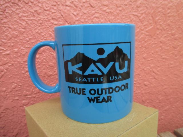 新品 KAVU 陶器 大容量マグカップ 360ml サンプル ach629
