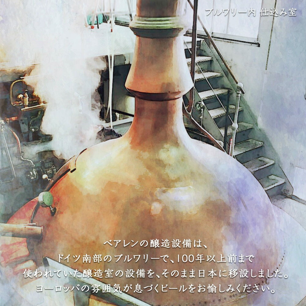 ベアレン醸造所 チョコレートスタウト 330ml瓶 1本単位 (ba0070-Ch1)
