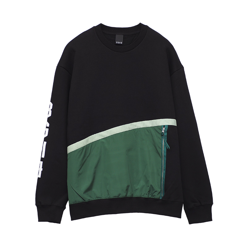 SWITCHING NYLON PULLOVER