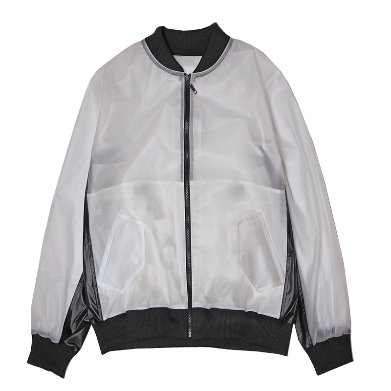 CLEAR NYLON JKT
